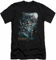 The Hobbit slim-fit t-shirt Epic Adventure mens black