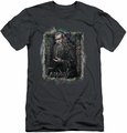 The Hobbit slim-fit t-shirt Gandalf mens charcoal