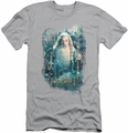 The Hobbit slim-fit t-shirt Gandalfs Army mens silver