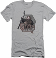 The Hobbit slim-fit t-shirt Gloin mens silver