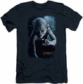 The Hobbit slim-fit t-shirt Gollum Poster mens navy