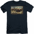 The Hobbit slim-fit t-shirt Hobbit and Company mens navy