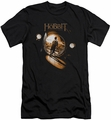 The Hobbit slim-fit t-shirt Hobbit Hole mens black