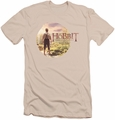 The Hobbit slim-fit t-shirt Hobbit In Circle mens cream