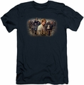 The Hobbit slim-fit t-shirt Hobbit Rally mens navy