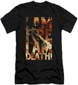 The Hobbit slim-fit t-shirt I Am Fire mens black
