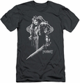 The Hobbit slim-fit t-shirt King Thorin mens charcoal