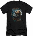 The Hobbit slim-fit t-shirt Knives mens black