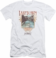 The Hobbit slim-fit t-shirt Laketown   mens white