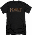 The Hobbit slim-fit t-shirt Logo mens black