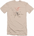The Hobbit slim-fit t-shirt Lonely Mountain mens cream