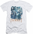 The Hobbit slim-fit t-shirt Main Characters mens white