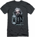 The Hobbit slim-fit t-shirt Oin mens charcoal