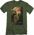 The Hobbit slim-fit t-shirt Oin mens military green