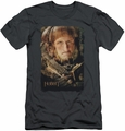The Hobbit slim-fit t-shirt Ori mens charcoal