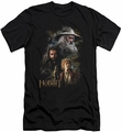 The Hobbit slim-fit t-shirt Painting mens black
