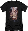 The Hobbit slim-fit t-shirt Rivendell mens black
