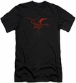 The Hobbit slim-fit t-shirt Smaug mens black
