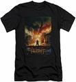 The Hobbit slim-fit t-shirt Smaug Poster mens black