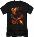 The Hobbit slim-fit t-shirt Smolder mens black