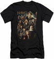 The Hobbit slim-fit t-shirt Somber Company mens black