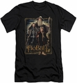 The Hobbit slim-fit t-shirt The Three mens black