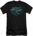 The Hobbit slim-fit t-shirt Thorin And Company mens charcoal