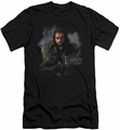 The Hobbit slim-fit t-shirt Thorin Oakenshield mens black