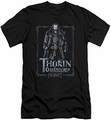 The Hobbit slim-fit t-shirt Thorin Stare mens black