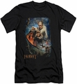 The Hobbit slim-fit t-shirt Thranduils Realm mens black