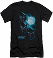 The Hobbit slim-fit t-shirt Three Warg Moon mens black