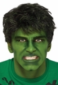 The Hulk adult wig