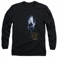 The Joker adult long-sleeved shirt Arkham Asylum black