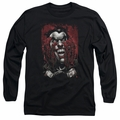 The Joker adult long-sleeved shirt Blood In Hands black