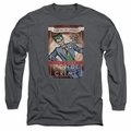 The Joker adult long-sleeved shirt Clown Prince charcoal