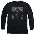 The Joker adult long-sleeved shirt Insanity black