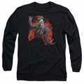 The Joker adult long-sleeved shirt Joker's Ave black