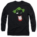 The Joker adult long-sleeved shirt Joker Simplified black