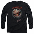 The Joker adult long-sleeved shirt Looking Good black