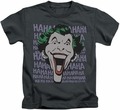 The Joker kids t-shirt Dastardly Merriment charcoal