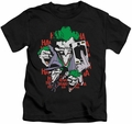 The Joker kids t-shirt Four Of A Kind black