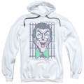 The Joker pull-over hoodie Criminal adult white