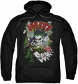 The Joker pull-over hoodie Jokers Wild adult black