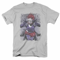 The Joker t-shirt Jokers Daughter mens silver
