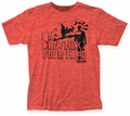 The Kids in the Hall Headcrusher fitted jersey tee heather red mens pre-order