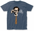 The Kids in the Hall Mr. Tyzik fitted jersey tee light navy mens pre-order
