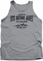 The Last Ship tank top USS Nathan James mens athletic heather