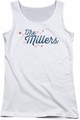 The Millers juniors tank top Logo white