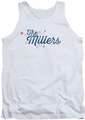 The Millers tank top Logo mens white