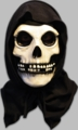 The Misfits Fiend Adult Full Mask Black Hood